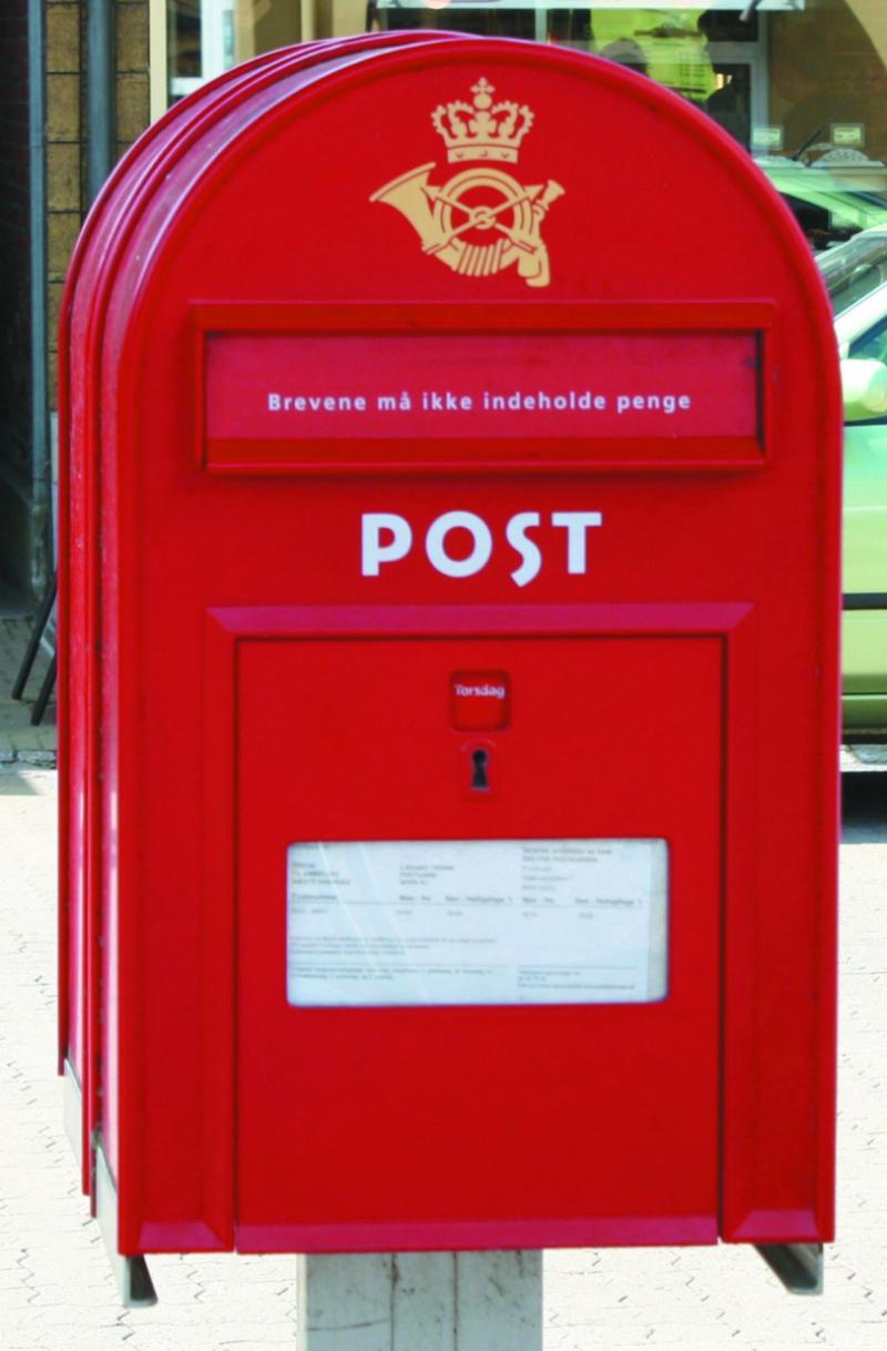 PostNord i stormvejr