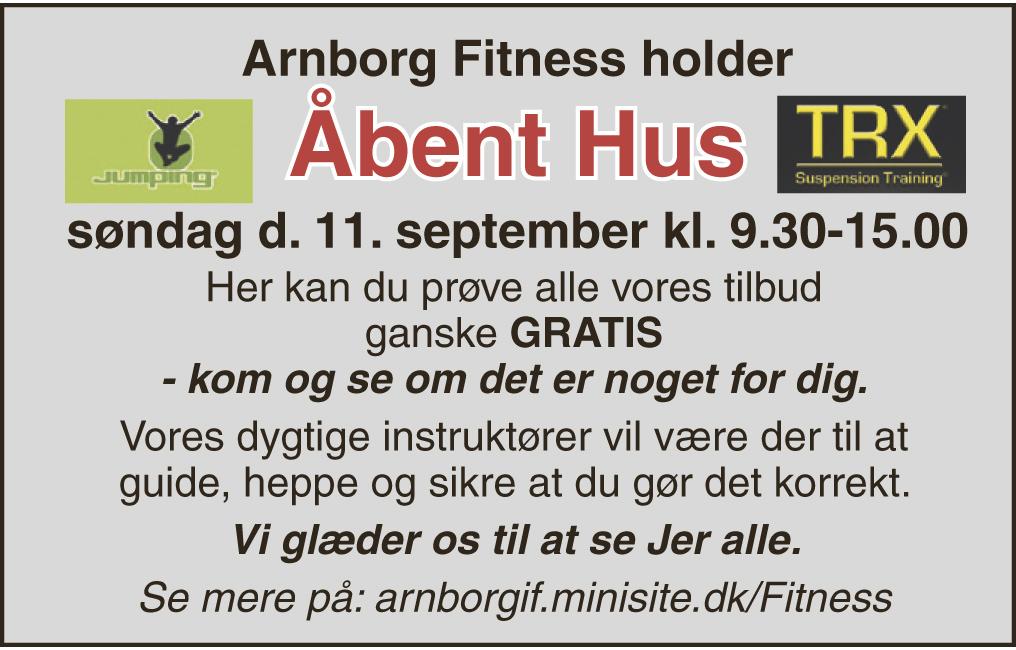Arnborg fitness følgesvend kort